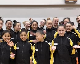 Nationals 2019 gymnasts + coaches