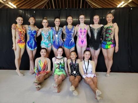 Senior gymnasts for 2020 season