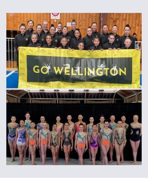 21 gymnasts representing Wellington